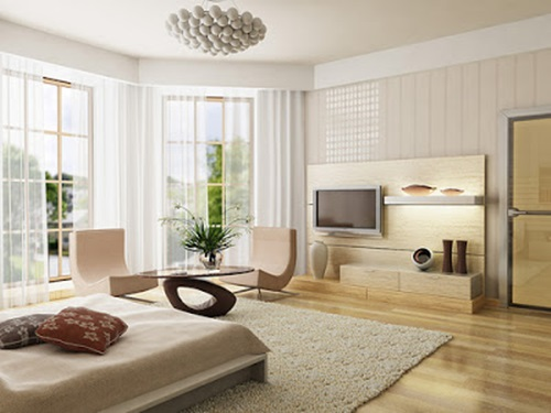 Room in matters of design and decoration