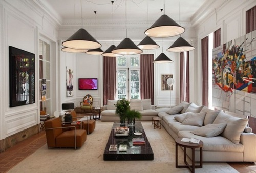 Room in matters of design and decoratio