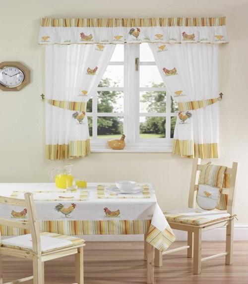Kitchen Curtains Designs: Rustic Italian Kitchen Curtain Designs