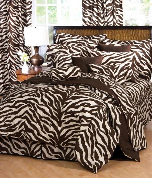 African Safari Bedroom Curtain Ideas