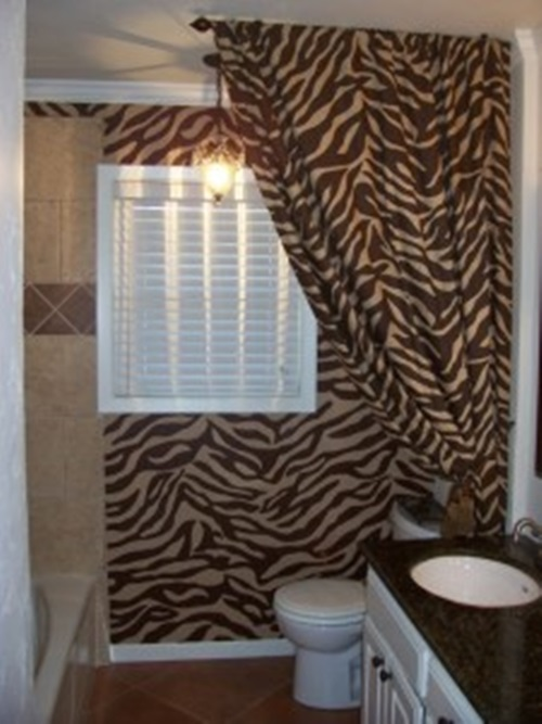 Animal Printed Shower Curtains
