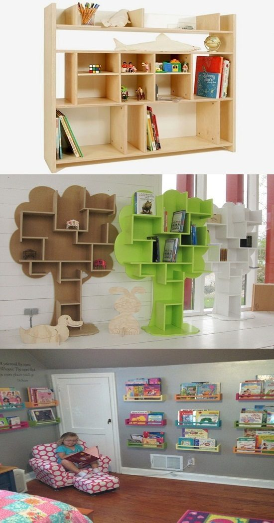 Attractive Kids' Bookcases