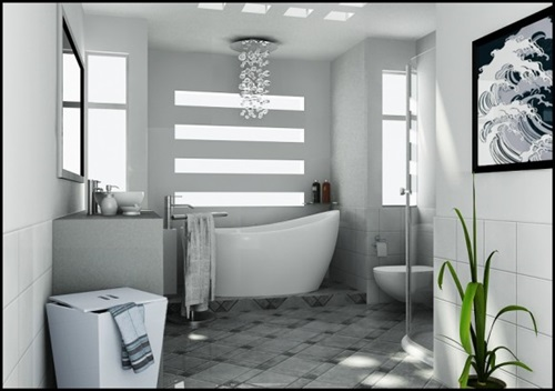 Bathroom Makeover - 5 Tools by Each you can do