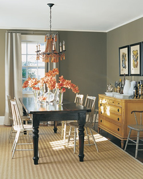 Changing The Dinning Room Curtains