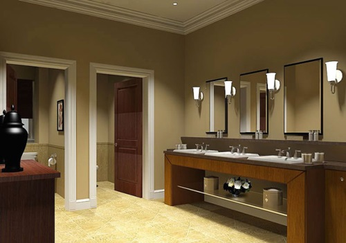 Commercial Bathroom Design
