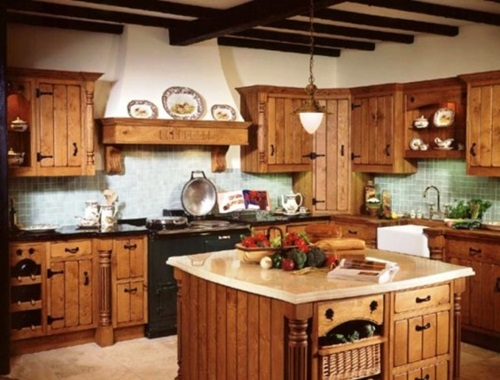 Decorating a Primitive Kitchen
