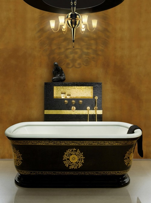 Fill Out your Bathroom with Victorian Style