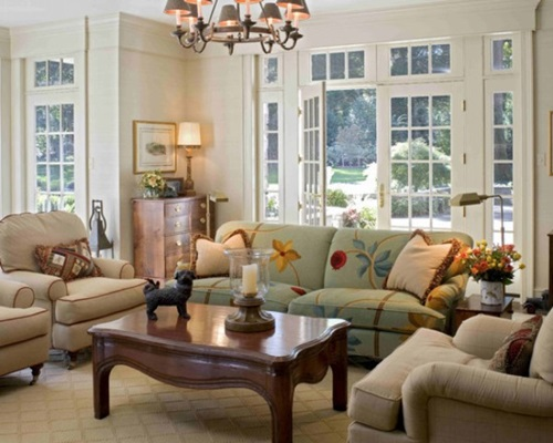 French Country Style For Your Living Room