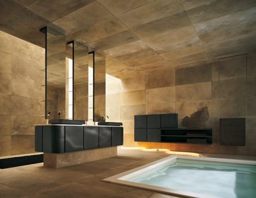 Interior Design of Bathroom – Flooring, Walls and Furniture