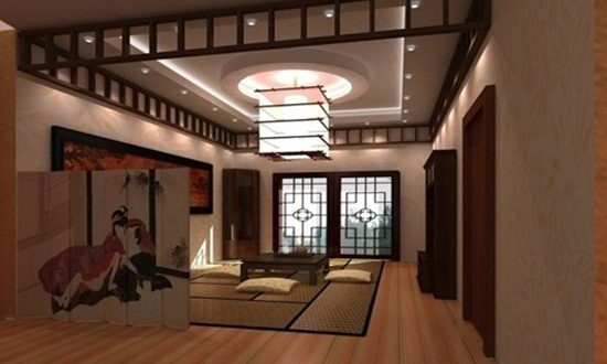 Japanese Interior Design Stick Furniture And