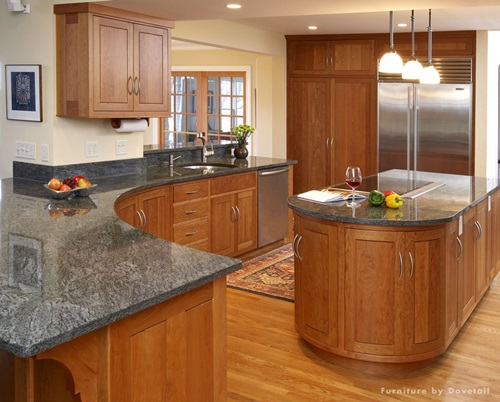 Kitchen Cabinets Design With Smart SpaceSaving Solutions - Kitchen cabinet space savers