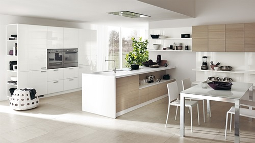 Kitchen Cabinets Design with Smart Space-Saving Solutions