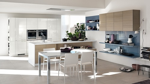 Kitchen Cabinets Design with Smart Space-Saving Solutions 8
