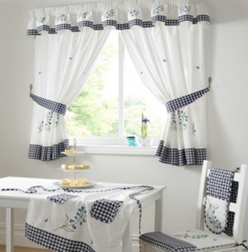 Kitchen Curtains - How To Choose Kitchen Curtains ...