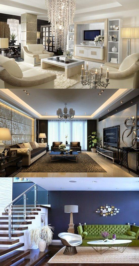 Some Ideas of Living Room Interior Design