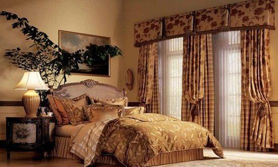 Victorian Bedroom Curtain Designs