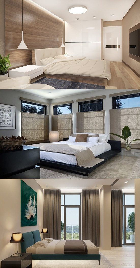 Zen bedroom interior design zen design for Where can you work as an interior designer