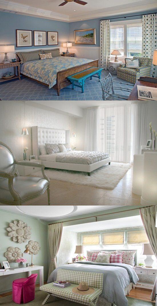 Cottage Bedroom Curtain Ideas
