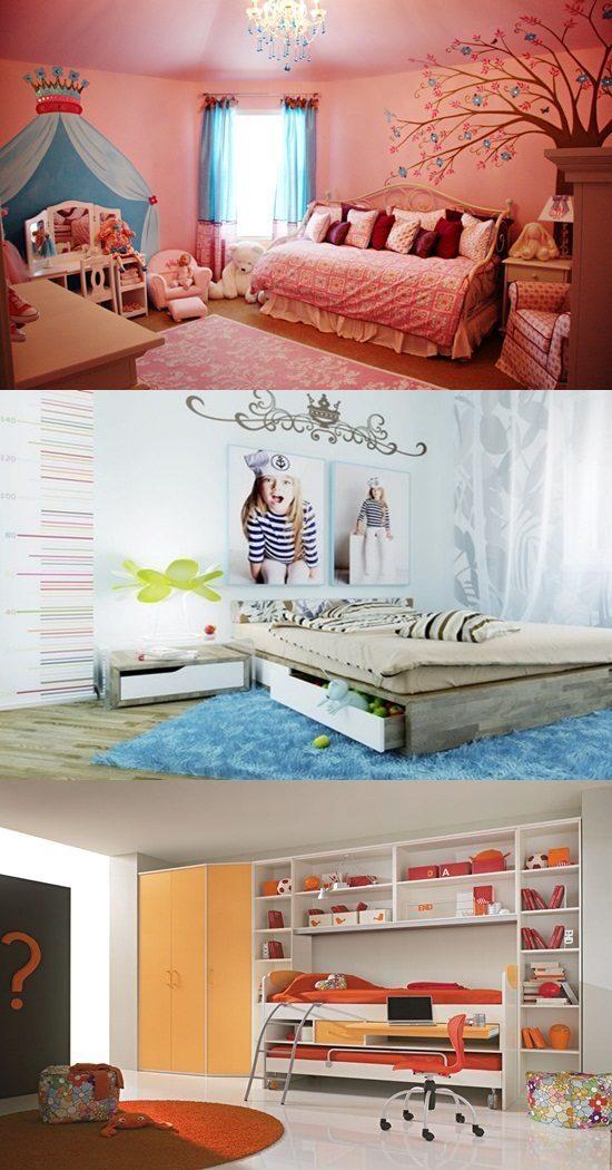 Interior Design Ideas for Baby & Teen Girls' Bedrooms