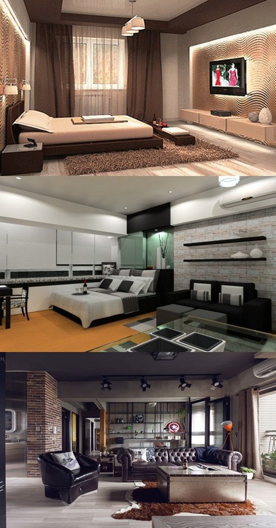 Man Interior Design Ideas