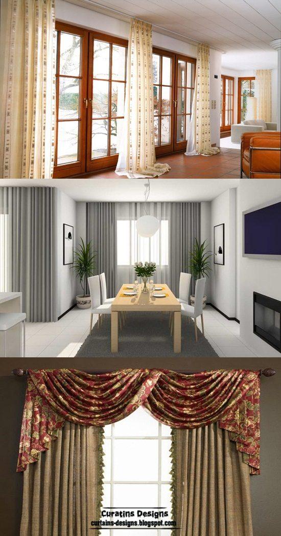 best curtains styles design formal and informal. Black Bedroom Furniture Sets. Home Design Ideas