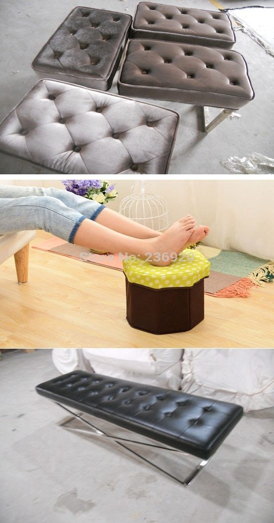 Footstools and Pouffes in Fashion – Purpose Footstool