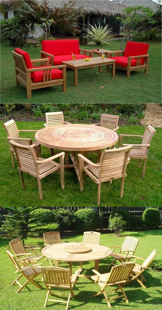 Outdoor Furniture – High Durability – Teak Wood