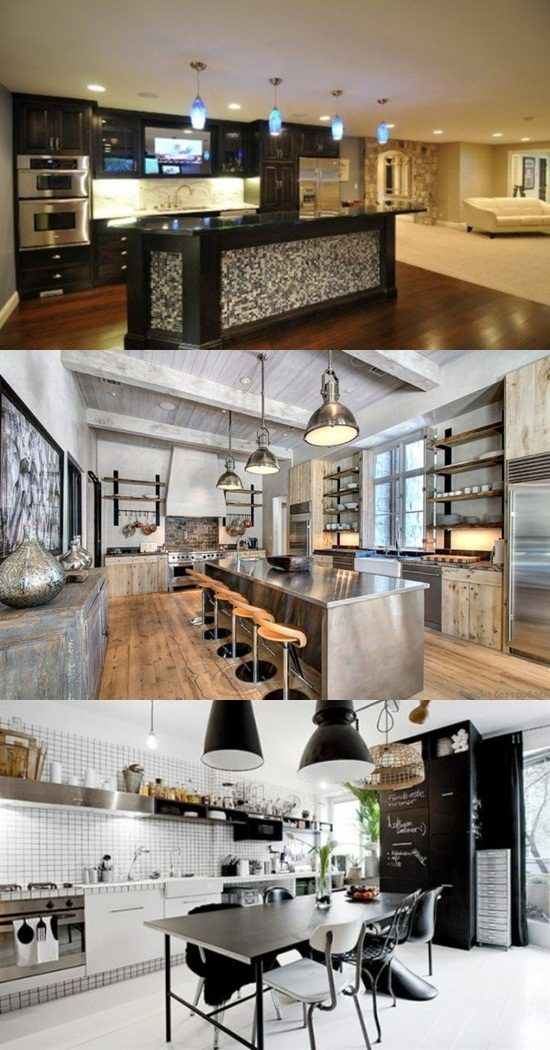 Will you go for the Masculine Kitchen Design