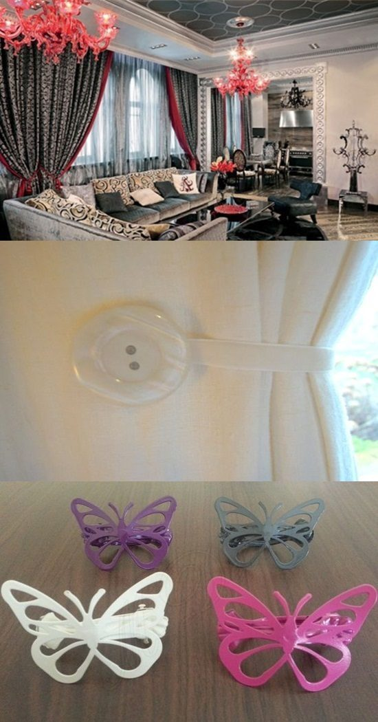 Alternative Tiebacks to Personalize your Home