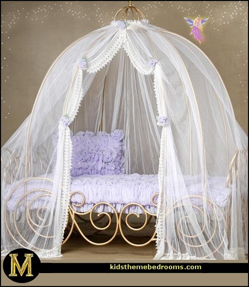 Attractive Little Girls Bedroom with a Fairy