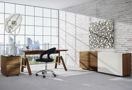Innovative Furniture Collection With Pebble Inlays