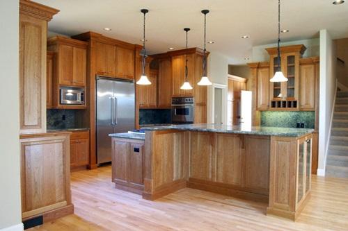 Kitchen Designed In Modern Victorian Style