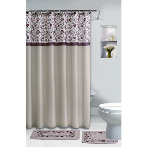Luxury Bathroom Window Ready Made Curtains