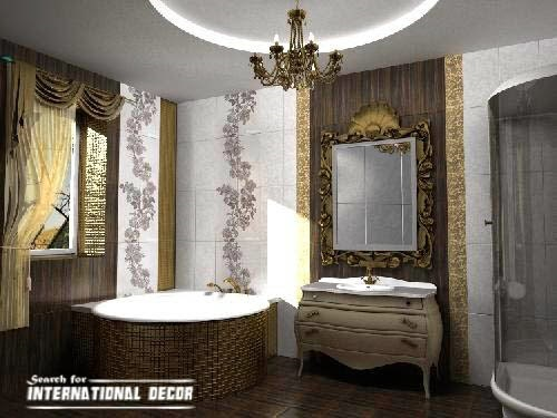 Luxury shower curtains