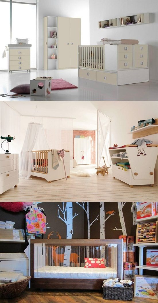 Magical Stylish Modern Nursery's Furniture