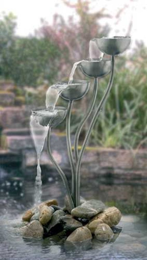 Water Fountains and Waterfalls to Decorate your Home and Office