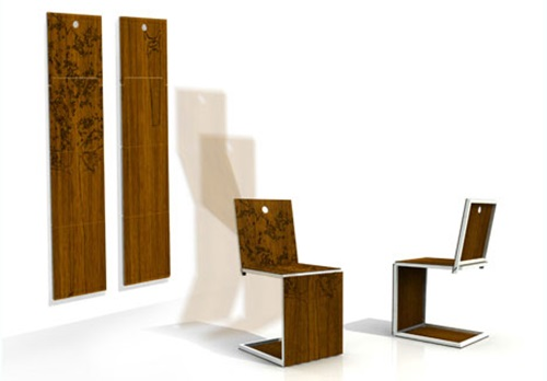 Amazing Folding Furniture Designs to Increase the Functionality of your Home