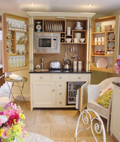 Brilliant Storage Ideas to Organize your Small Kitchen 2