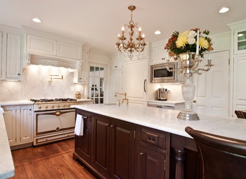 4 Brilliant Kitchen Remodel Ideas: Elegant And Luxurious French Kitchen Design Ideas