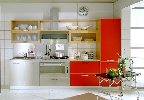 Futuristic Space Saving Kitchen Ideas