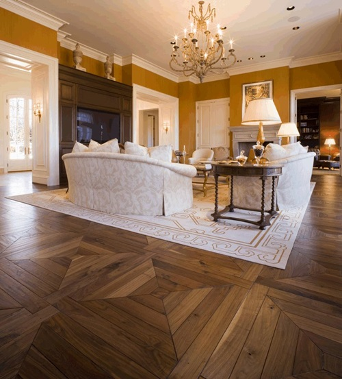 Gorgeous Home Designs Using Hardwood Floor