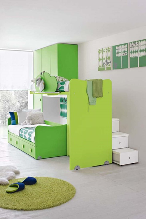 Kids Room Bed Unique Design Ideas