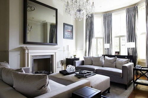Luxurious Fireplaces for Modern Living Rooms