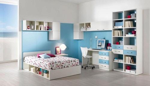 Single Teenager Room Designing Ideas