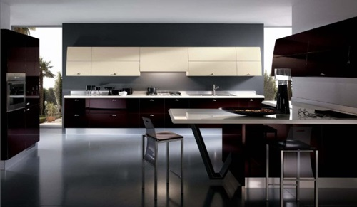 Spacious Italian Kitchen Design Ideas