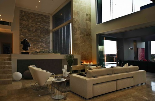 Stone Living Room Luxurious designs