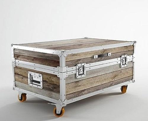 Stylish Vintage and Modern Suitcase