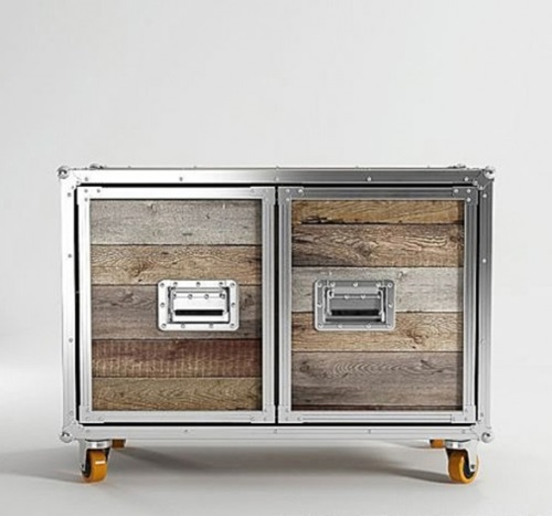 Stylish Vintage and Modern Suitcase