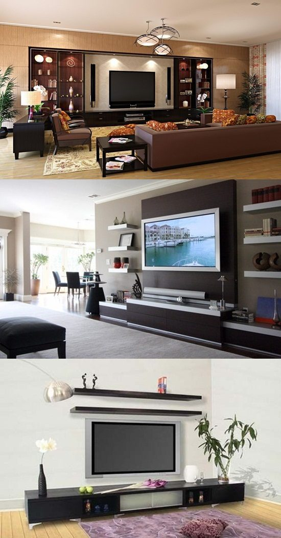4 Decorative TV Stand Design Ideas