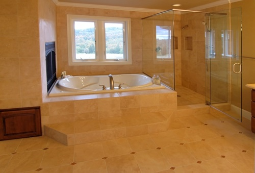 4 great ideas for remodeling small bathrooms - Small bathroom remodel with tub ...